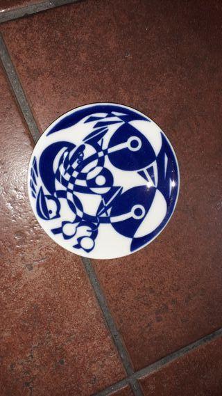 Plato pequeño cerámica de Sargadelos
