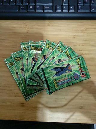 Sobres SELLADOS cartas Dragon Ball Z serie 5.