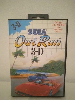 Out Run 3D sega master system