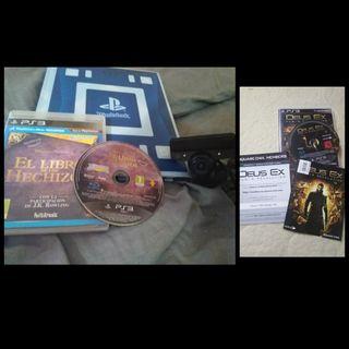 seminuevops3} libro+cd.hechizos+camara+deusExNuevo