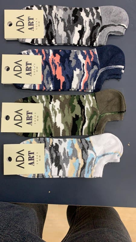 calcetines caña baja