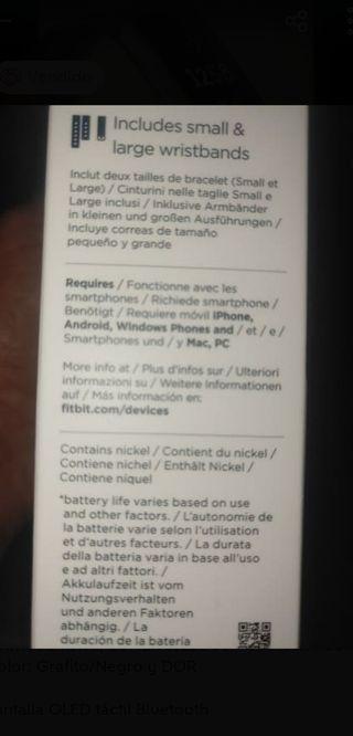 ¡¡NUEVO!! Fitbit Charge 3 Reloj-Pulsera avanzada
