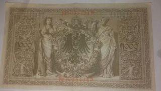 billetes alemanes 1910 para coleccionistas.