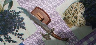 cuchillo con soporte