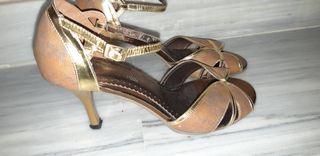 zapatos de baile o salsa