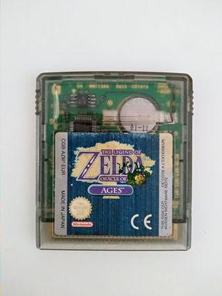 ZELDA ORACLE OF AGES GAMEBOY COLOR JUEGO
