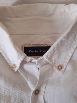 Camisa Maximo Dutti hombre.Talla L