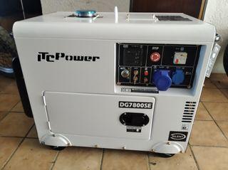 Alquiler de generador de luz insonorizado