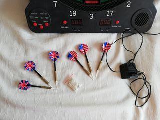 Diana de dardos electrónica.