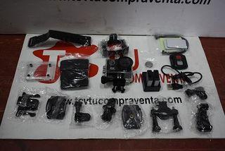 Camara deportiva 4K HD WIFI con accesorios y funda