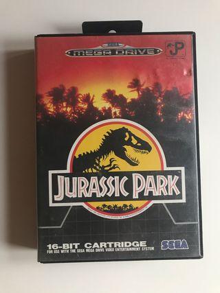 Jurassic park megadrive
