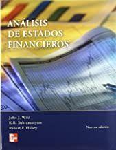 9789701061121 Análisis de estados financieros