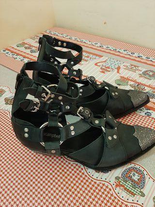 Zapatos de piel auténtico Jeffrey Campbell n39