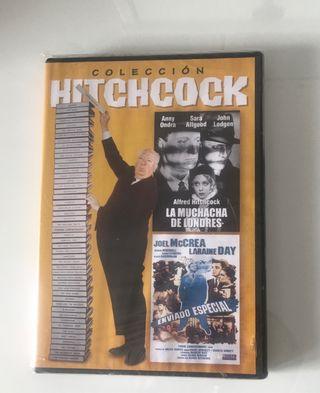 Dos películas de Hitchcock. Dvd precintado .