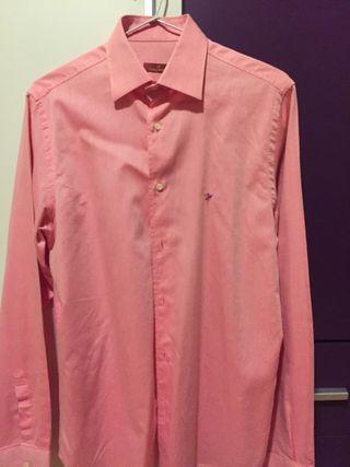 Camisa rosa de CARAMELO