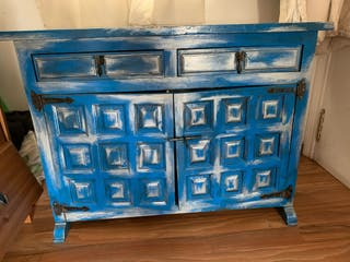 Mueble castellano restaurado