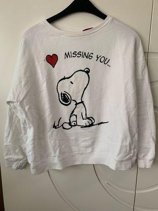 Sudadera jersey de Snoopy