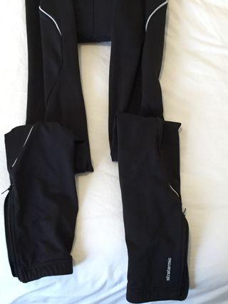 Culotte largo de invierno para ciclismo, talla Xl