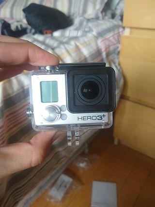GoPro Hero 3+Black, accesorios y tarjeta SD 32Gb