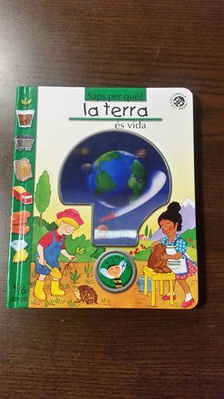 """Libro infantil catalan """"La terra"""""""