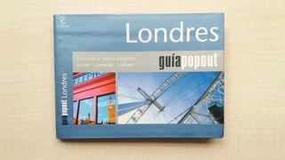 Libro Guía Popout Londres. Espasa Calpe.
