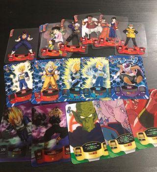 Cartas Dragon Ball Z 3d Laminacards