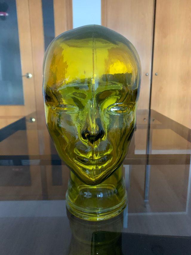 Busto cabeza decorativo