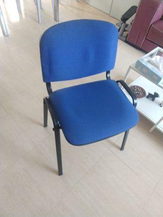 sillas de oficina apilables