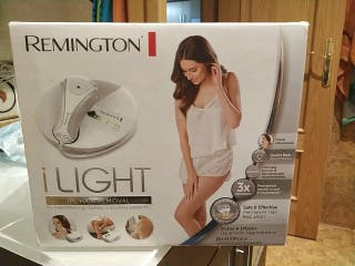 depiladora Remington ilight ipl6780
