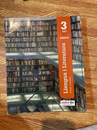 Libro de catalán 3ESO