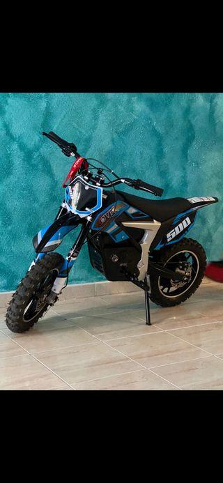 Moto cross eléctrica