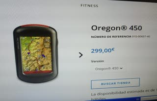 Navegador GPS garmin Oregon 450