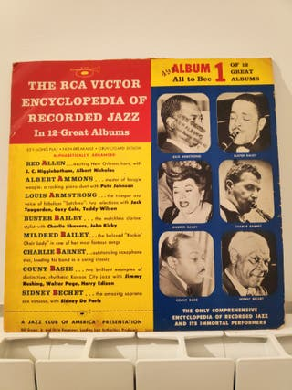 vinilo de Jazz antiguo