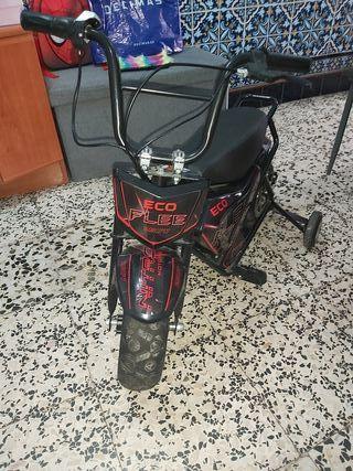 mini moto de niño electrica