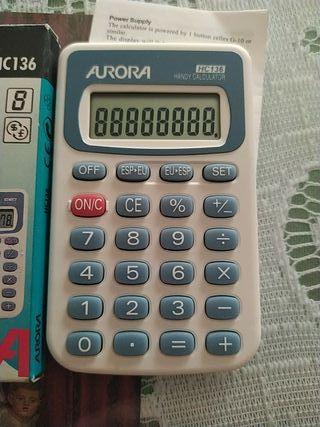 Calculadora bolsillo