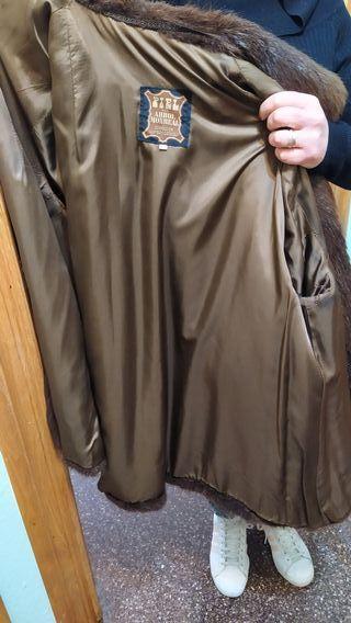 Abrigo de piel de chinchilla