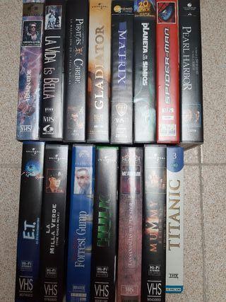 3 películas VHS X 5€