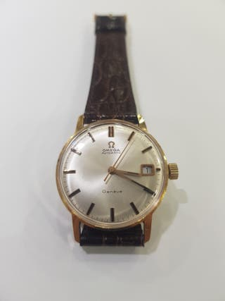 Reloj Omega seamaster oro 18kts