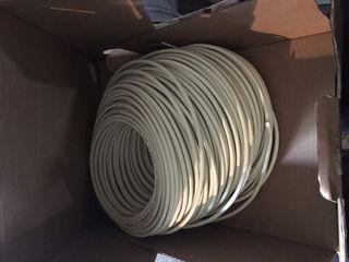 Rollo de cable fibra óptica 100m