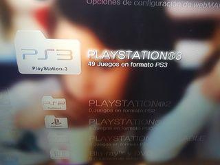 ps3 con millones de juegos