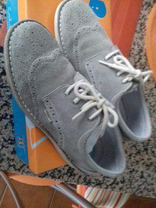 zapato ante color pidra