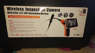 Cámara inspección con monitor LCD