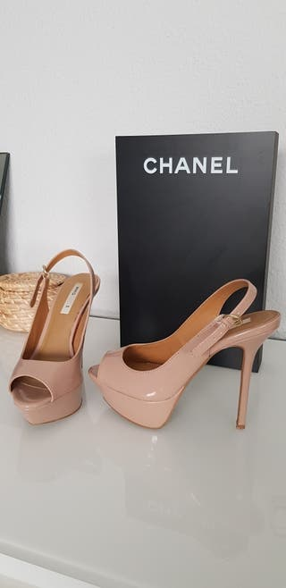 Zapatos tacón de aguja de Mango