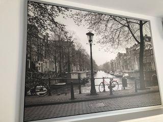 Cuadro Ámsterdam con marco