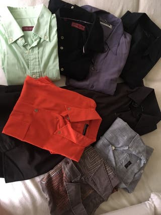 Pack 8 camisas hombre
