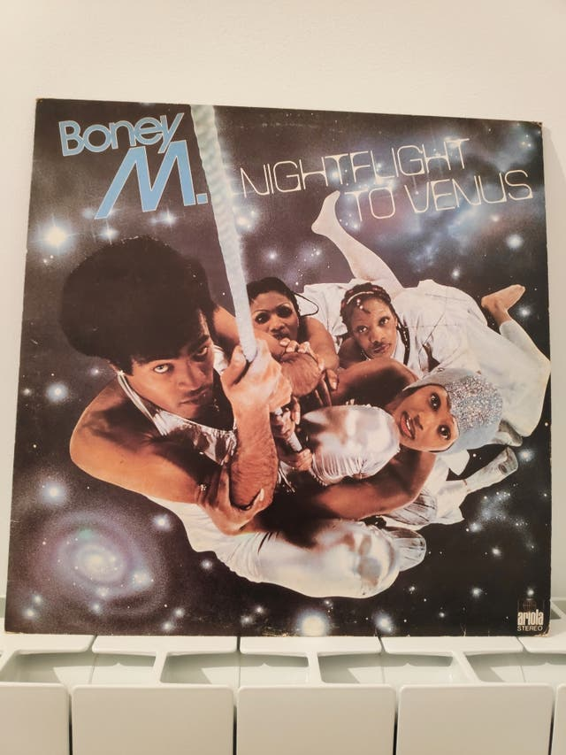 LP Boney M nightflight to Venus