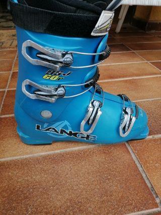 botas esquí júnior Lange