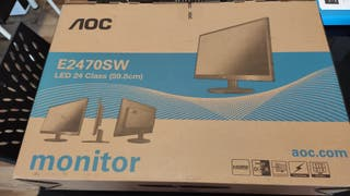 Monitor AOC E2470SW led 24 class (59.8 cm)
