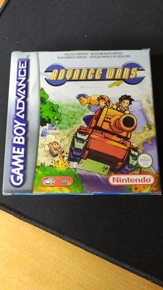 Advance Wars para la Game Boy Advance