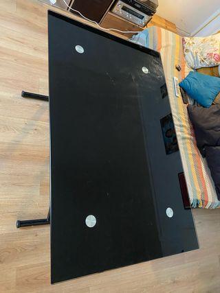 Table haute/basse réglable en hauteur